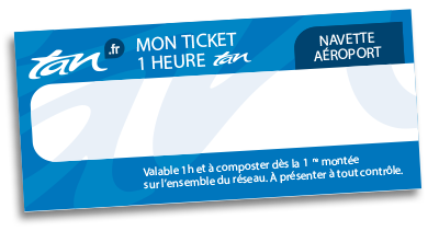 Ticket navette aéroport