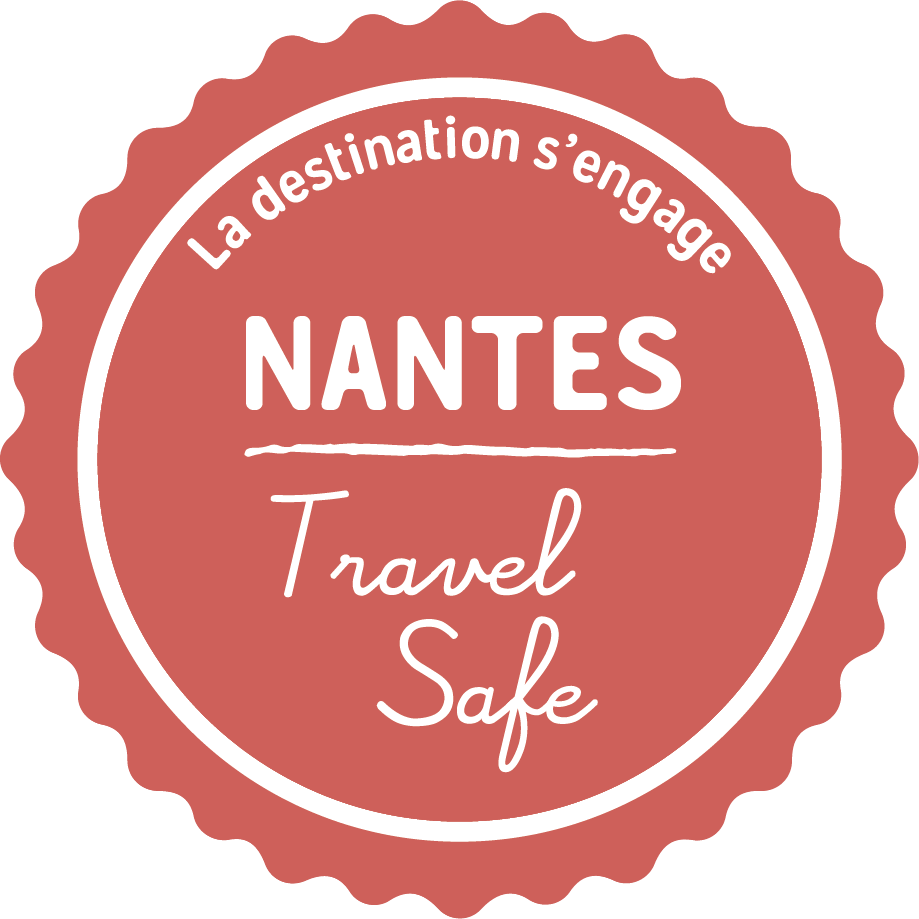 Nantes Travel safe logo